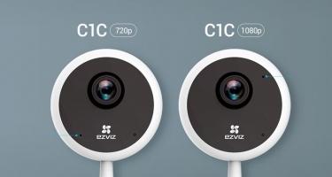 Khuấy động mùa hè cùng Camera Wifi C1C Ezviz Cube